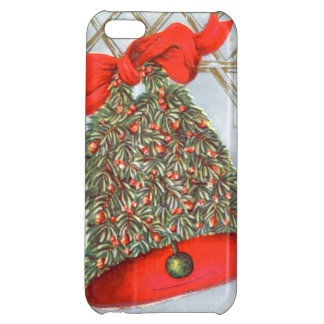 Holly Bell Red Ribbon Glad Tidings iPhone 5C Cover