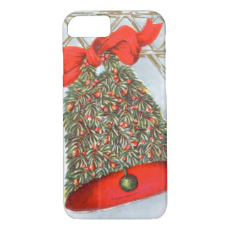 Holly Bell Red Ribbon Glad Tidings iPhone 8/7 Case