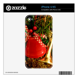 Holly Bell Decals For The iPhone 4S