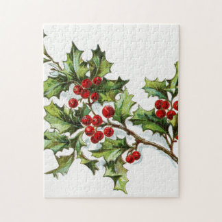 Holly Berries 002 Puzzle