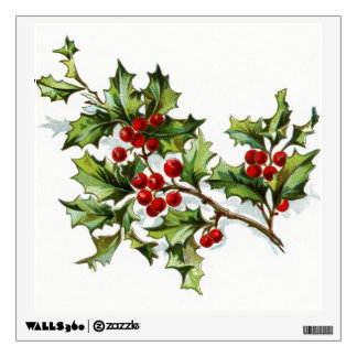 Holly Berries 002 Wall Decals