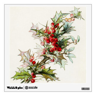 Holly Berries 003 Wall Stickers