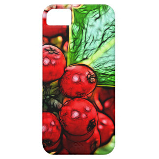 Holly Berries 006 iPhone SE/5/5s Case