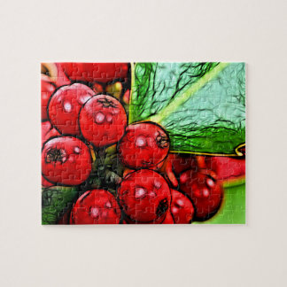 Holly Berries 006 Jigsaw Puzzle