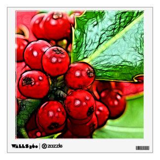 Holly Berries 006 Wall Skins