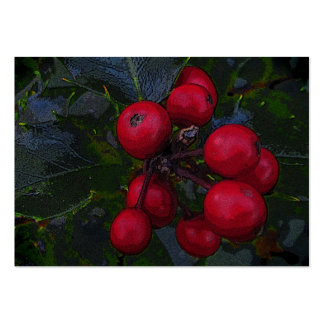 Holly Berries ATC Large Business Card