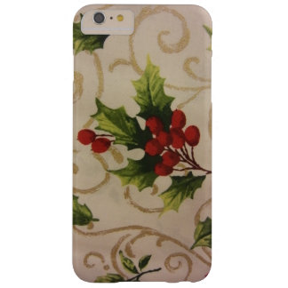 Holly Berries Barely There iPhone 6 Plus Case