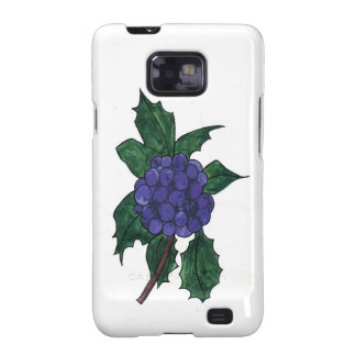 Holly Berries Galaxy SII Case