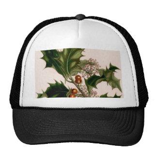 Holly berries trucker hats