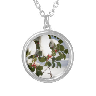 Holly Berries in the Snow Custom Jewelry