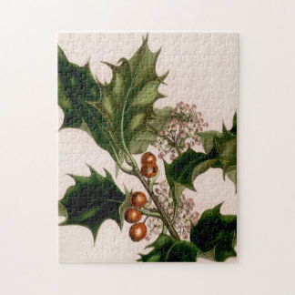 holly berries jigsaw puzzle