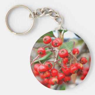Holly Berries Keychain