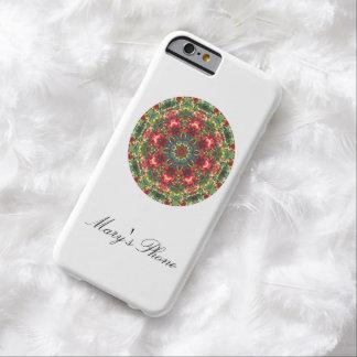 Holly Berries Mandala - iPhone 6 Case