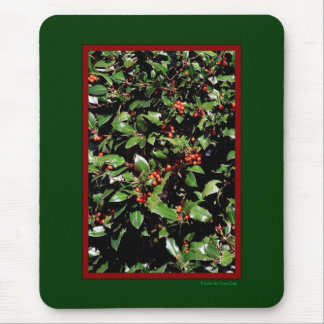 Holly & Berries Mousepad
