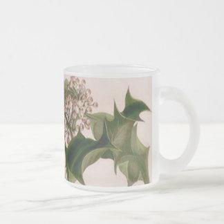 Holly berries coffee mugs