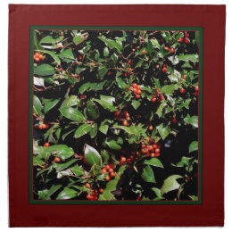 Holly & Berries Napkins