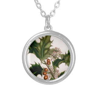 Holly berries necklaces