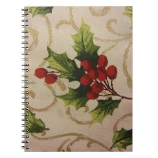 Holly Berries Notebook