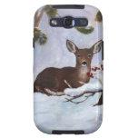 Holly Berry Deer Samsung Galaxy Case Samsung Galaxy SIII Case