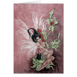 Holly Berry Faery Card