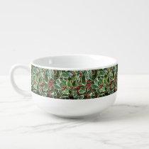 Holly Berry Holiday Soup Mug