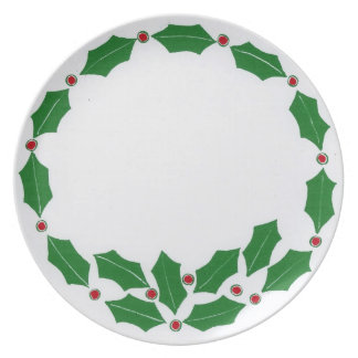 Holly & Berry Plate