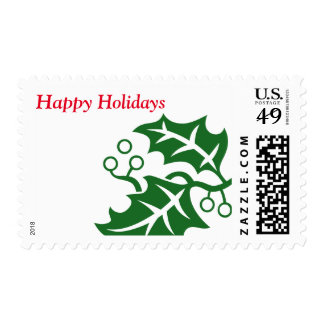 Holly Berry Postage Stamps