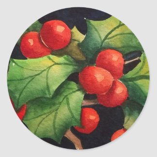 Holly Berry Stickers