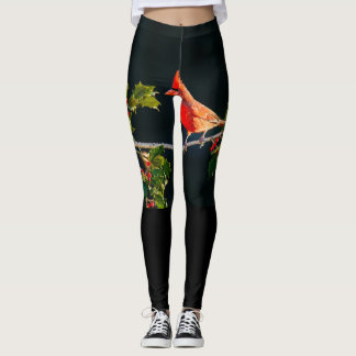 Holly bush leggings