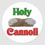 Holly Cannoli Classic Round Sticker
