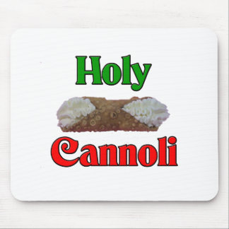 Holly Cannoli Mouse Pad
