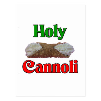 Holly Cannoli Postcard