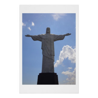 Holly Christ Corcovado in Rio Posters