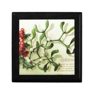Holly_Christmas_card_ Jewelry Box