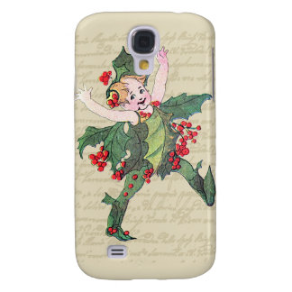 Holly Christmas Fairy Galaxy S4 Case