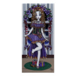 """""""Holly"""" Christmas Party Fairy Poster"""
