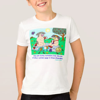 """Holly Cow and Belle Cow, """"Sunshine Picnic"""" T-Shirt"""