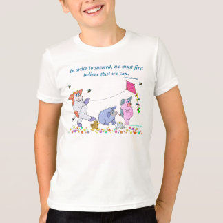"""Holly Cow, """"Believe In Yourself"""" T-Shirt"""