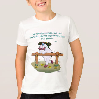 """Holly Cow """"Embrace Simplicity"""" Shirt"""