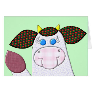 """Holly Cow """"Hi There!"""" Card"""