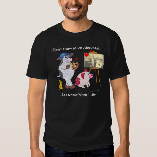 """Holly Cow, """"I Don't Know Much About Art..."""" Tshirt"""