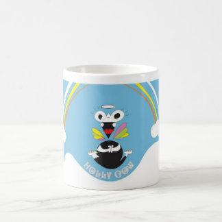 Holly Cow Classic White Coffee Mug