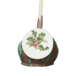 Holly-Day Cake Pops