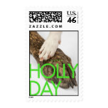 HOLLY DAY STAMP