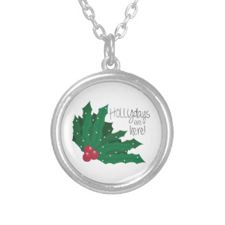 Holly days Are Here! Pendants