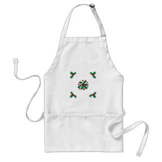 Holly Design Aprons