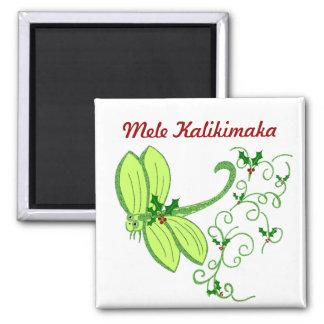 Holly dragonfly, Mele Kalikimaka magnet