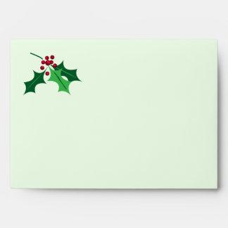 holly envelope