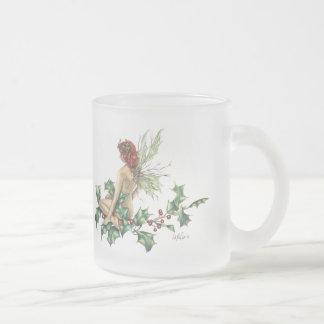 Holly fairy Fantasy Art  Holiday Mug