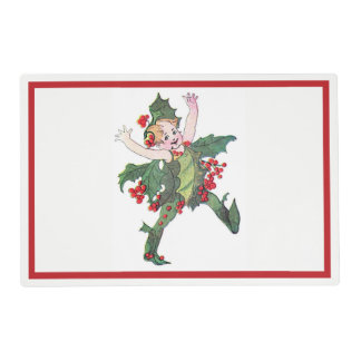 Holly Fairy Placemat